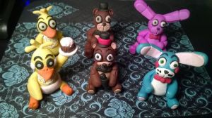 Five nights at Freddy's group photo #1 by Tiffanime1