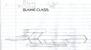 Blaine Class Paper Drawing by kaisernathan1701