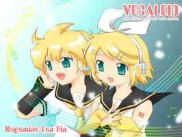 Vocaloid : Singing together by akai-sakuranbo