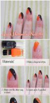 Easiest Halloween Nail Art Tutorial Ever by VioletLeBeaux