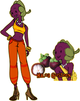 Fruit Citizen Contest: Haloa by TheCupcake-Queen