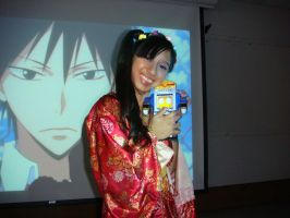 Me and Datas in Anime Club Halloween Party photo 6 by Magic-Kristina-KW