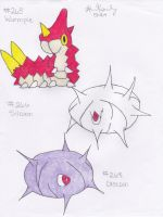 Wurmple, Silcoon and Cascoon
