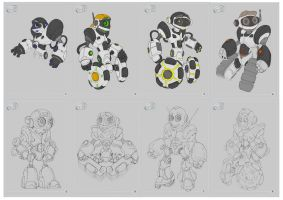 Toy Robot Concepts by adamski1616