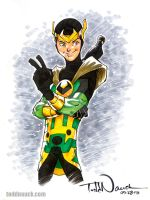 Kid Loki by ToddNauck