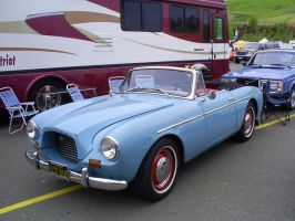 1957 Volvo P1900 S convertible by Partywave