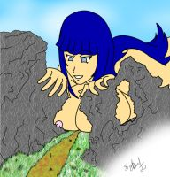 giantess Hinata 5 by dbere