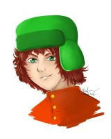Kyle from South Park by Dark4Kuran