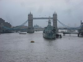 Tower Bridge from the west by betterwatchit