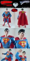 Custom Christopher Reeve Superman, Movie Style by MintConditionStudios