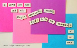 The Daily Magnet #77 by FridgePoetProject