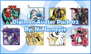 Digimon Avatar Pack 02 by NoNamepje