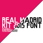 Real Madrid Kit 2014-2015 Font by EldonHossam