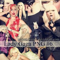 LADY GAGA PNG PACK 6 by gagauniverse