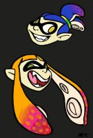 SquidKid Color Changing Heads by anniemae04