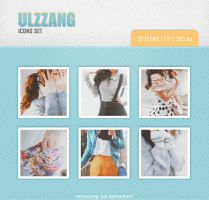 Ulzzang icons set 27 20 pic. by Minyoung-ssi