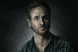 Rick Grimes (The Walking Dead) by lerielos