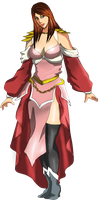 rpg Contest: Alice full body by Lilithina