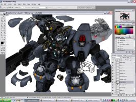 how to draw internal mechanism by NCH85