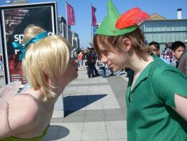 London Expo: Tink and Peter by GrenadierJorinde