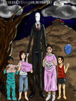 Gift: Slenderman wishes by MistressOfHorror
