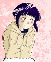 Hinata: Watching you +Colored+ by DensetsuShinobi