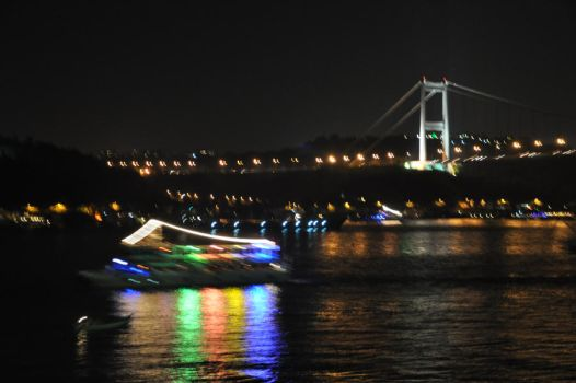 The Bosphorus Boat by ozanenc
