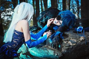 The story of a Blue Rose by lKainl