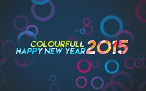 Colourfull New Year by midhunstar