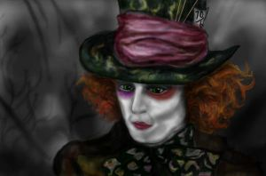 The Mad Hatter by EllyWithAWhy