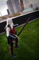 Sword Play- Elric of Melnibone by veriedian
