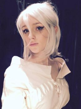 Ciri from the Witcher 3 WIP by vacuumkiller