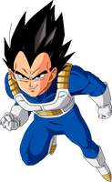 Dragonball Z - Vegeta by TriiGuN