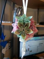Spring Kusudama Ball by Jamethial