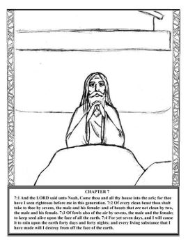 Genesis ch 7 v1-4 by BIBLE-PROJECT