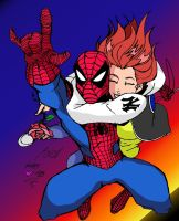 Spider-man Loves Mary Jane by Prongsky