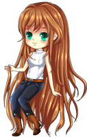 Mahel Chibi For Cici88 by Tish-Marie