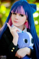 Stocking cosplay by neliiell