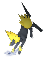Manectric by Wolf-mutt