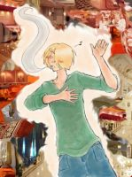 Sanji + St Patricks contest 12 by OnePieceUnlimited