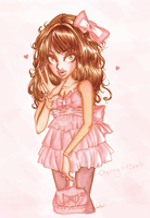 -: Hime Gyaru Copic :- by Cherry-Fizzle