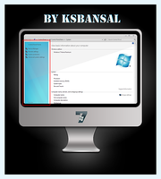 Windows 7 task pane skin by ksbansal