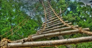 Rope-ladder HDR by papalamama