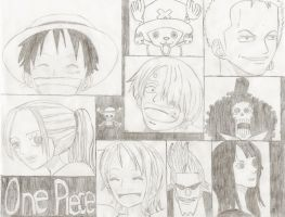 One Piece Crew by vivisanop