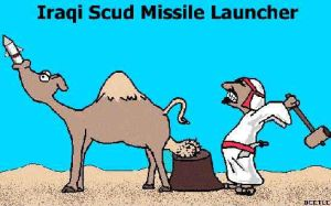 iraq scud missile launcher by kingcarrot