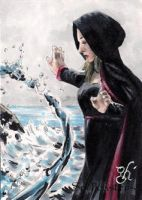 Spellcasters Water Elemental by gph-artist