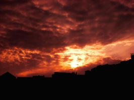 Sunset Over Berlin 83 by ErinM2000
