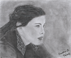 Arwen / Liv Tyler Lord of the Rings by dragonrose1986