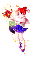 Sailor Moon - ChibiChibi by haeeun0120