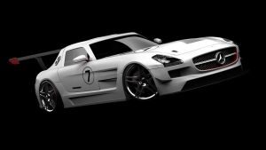 Mercedes SLS GT3 AMG by DarkStryder360